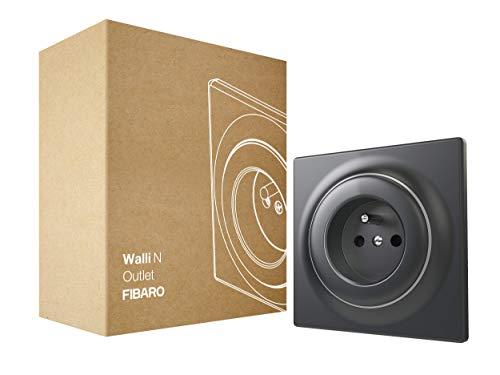 FIBARO Walli Outlet N E FGWSONE-011-8 - Caja para empotrar (tipo E, color antracita)