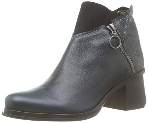 Fly London Damen JURE532FLY Stiefeletten, Grün (DK.PETROL 001), 40 EU