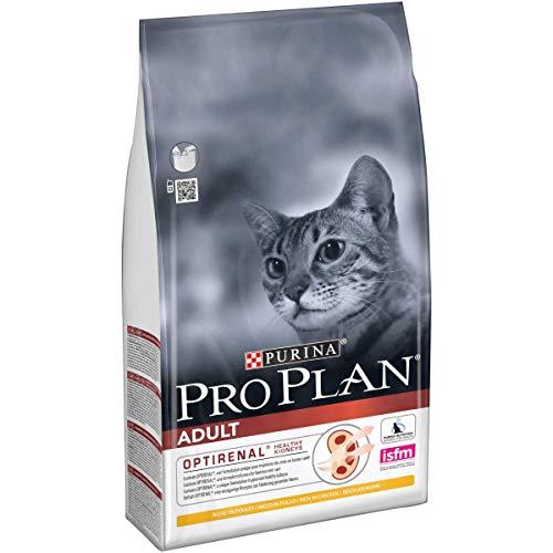 PURINA PRO PLAN ORIGINAL Adult 1+ Katzenfutter trocken mit OPTIRENAL, reich an Huhn, 1er Pack (1 x 1,5kg)