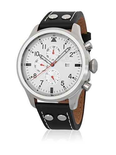 Burgmeister Herren Analog Quarz Uhr mit Leder Armband BM227-112