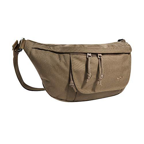 Tasmanian Tiger TT Modular Hip Bag II Taktische universelle Hüft-Tasche mit 5 Litern Volumen, DREI RV-Fächern und Molle-Klett Panel, Gürtel-Tasche für Einsatz, Sport, Trekking, Outdoor, Coyote Brown