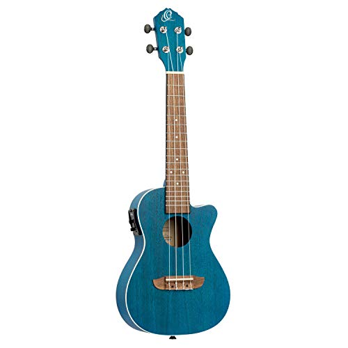 Ortega Guitars Earth Serie Ukelele, Dietro,Azul...