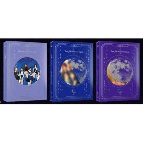 Gfriend - [Time For The Moon Night] 6th Mini Random Ver CD+60pPhotoBook+2p PhotoCard+Extra Photocards Set K-POP Sealed