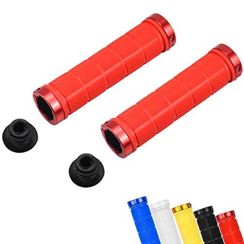 Fodlon Fahrradgriffe MTB, Fahrradlenker Griffe Ergonomisch Lenkergriffe Fahrrad Mountainbike für 20-22.2mm Durchmesser