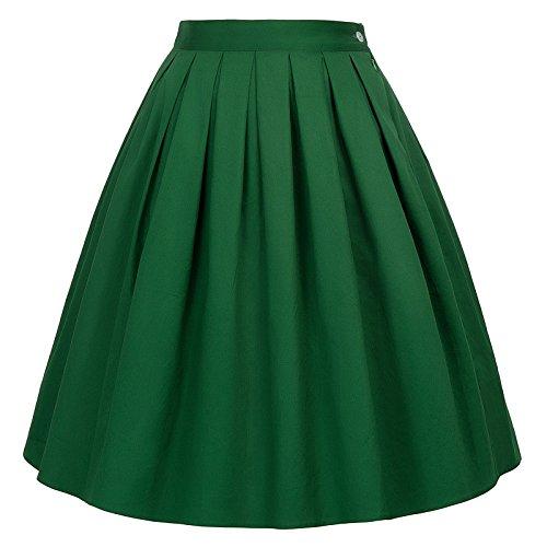GRACE KARIN Retro Dress - Gonna - Linea ad a - Donna Cl6294-18 Small