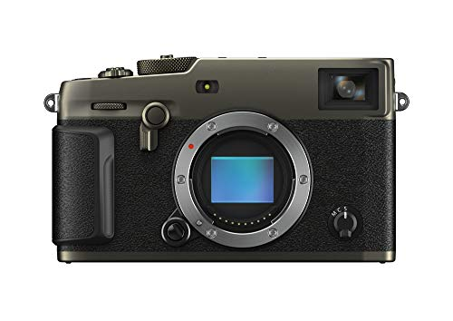 Fujifilm X-Pro3 Drblack Fotocamera Digitale Mirrorless 26 MP, Sensore X-Trans CMOS 4, Filmati 4K 30p, Mirino Ibrido, Schermo LCD 3' Touch Ribaltabile, Duratec Nero