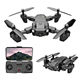 NONGLAN Mini RC Drone 4k Profesional Cool Led FPV HD Cámara Evitar Obstáculos 2.4g 4ch 3.7v 1800mah Quadcopter Dron Juguetes
