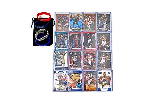 Basketball Cards: Curry, Lebron, Durant, Lillard, Kawhi Leonard, Wade, Paul George, Butler, Brandon Ingram, DeRozan, Lamarcus Aldridge, Walker, Gay, CJ Mccollum, Williams, Rose (16) Card Gift Bundle