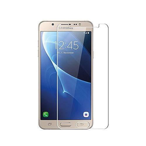 3 Pezzi Vetro Temperato Samsung Galaxy J7 2016, WEOFUN Display Proteggi Schermo per Samsung Galaxy J7 2016 Pellicola Protettiva (0,33mm, 9H, Alta-trasparente)