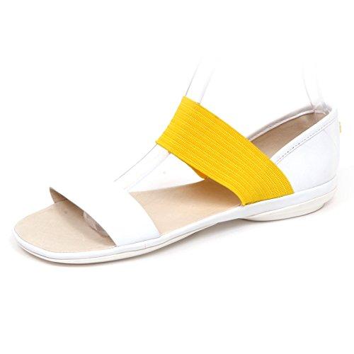 CAMPER E5768 (Without Box) Sandalo Donna White/Yellow Scarpe Shoe Woman [38]