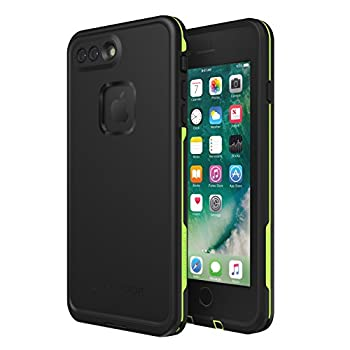 LIFEPROOF FRĒ SERIES Waterproof Case for iPhone 8 PLUS & 7 PLUS  ONLY  - Retail Packaging - NIGHT LITE  BLACK/LIME