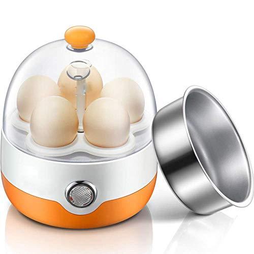 XGBDTJ Steamer Automatic Shut off Egg Boiler Piccolo Egg Boiler Egg Maker Moda Vivere Design per Un Sano Campeggio Quotidiano (Color : Colour, Size : Size)
