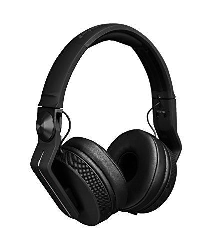 Pioneer HDJ-700-K auricular Circumaural Diadema Negro - Auriculares (Circumaural, Diadema, Alámbrico, 5 - 28000 Hz, 1,2 m, Negro)