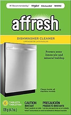Whirlpool Affresh W10549851 Dishwasher Cleaner, 6 tablets, Original Version