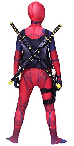Riekinc Kids Superhero Costumes Zentai Bodysuit Halloween Cosplay Costumes