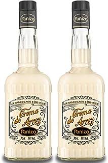 Licor de Crema de ARROZ CON LECHE Panizo. 2 Botellas de 70 cl. - 15º