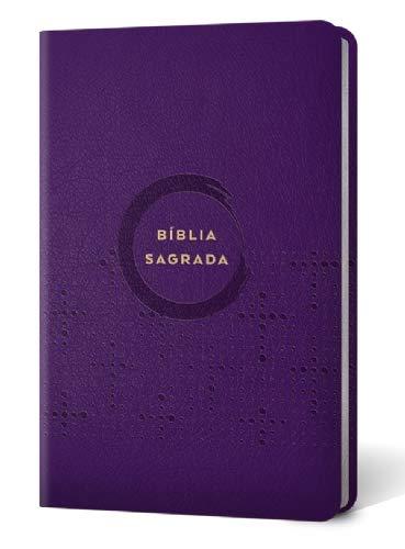 Bíblia Sagrada Econômica | N V I | Capa Pu | Slim / Ultrafina | Violeta | Editora Vida