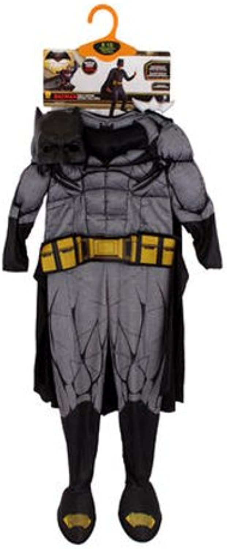 DC Comics 25456 Batman Medium Halloween Costume, Black, 8 10