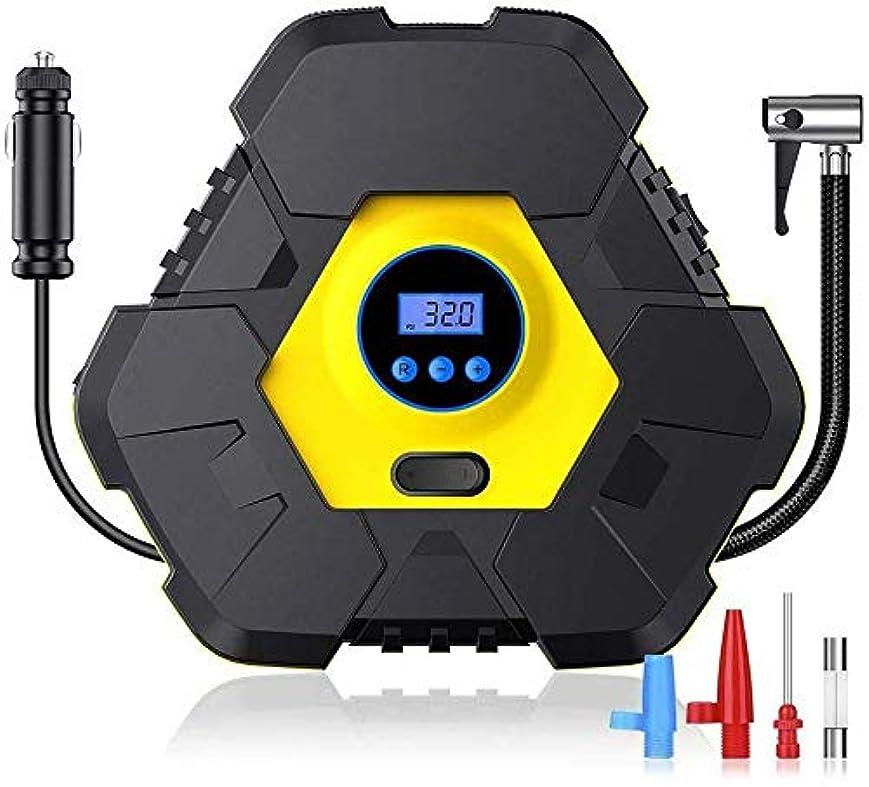 予備日の出誰かLEDライトが付いている携帯用空気圧縮機ポンプタイヤのインフレーター