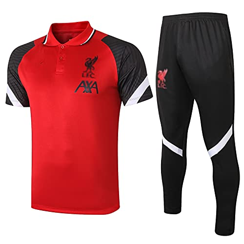 Club De Fútbol De Fútbol De Fútbol De Club De Fútbol De Inglatería De Inglaterra De La Inglaciona Uniforme De Entrenamiento Rojo (Camiseta + Pantalones) -pol-b1515(Size:XX-Grande,Color:Rojo)
