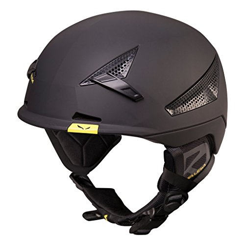 Salewa Vert Helmet Casco per Lo Sci-Alpinismo Unisex-Adulto, Nero (Black), S M
