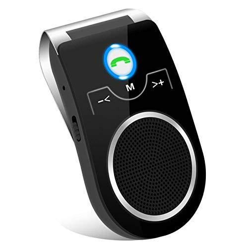 Altoparlante bluetooth kit vivavoce bluetooth da auto, volume più alto, L'audio 3D adattatore da auto per riprodurre musica, Indicazioni GPS e effettuare chiamate in vivavoce -Versione IT