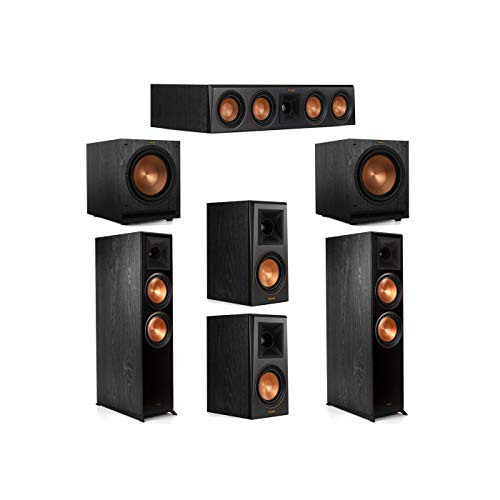 Review Klipsch 5.2 System with 2 RP-8000F Floorstanding Speakers, 1 Klipsch RP-404C Center Speaker, ...