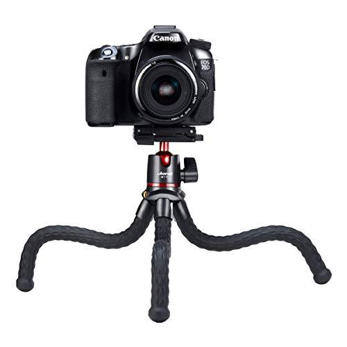 Treppiede Cellulare Flessibile 3 in 1,Treppiede Portatile per Mini Fotocamera da Viaggio con...