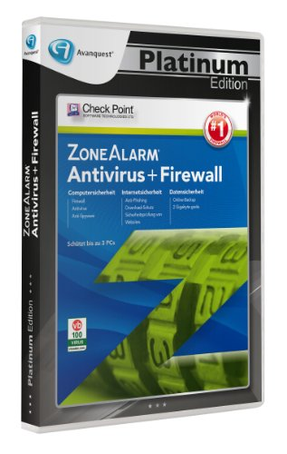 Zone Alarm Antivirus + Firewall - Avanquest Platinum Edition