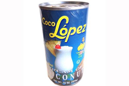 Coco Lopez Cream of Coconut Cocktail Mix Voor de perfecte Pina Colada.