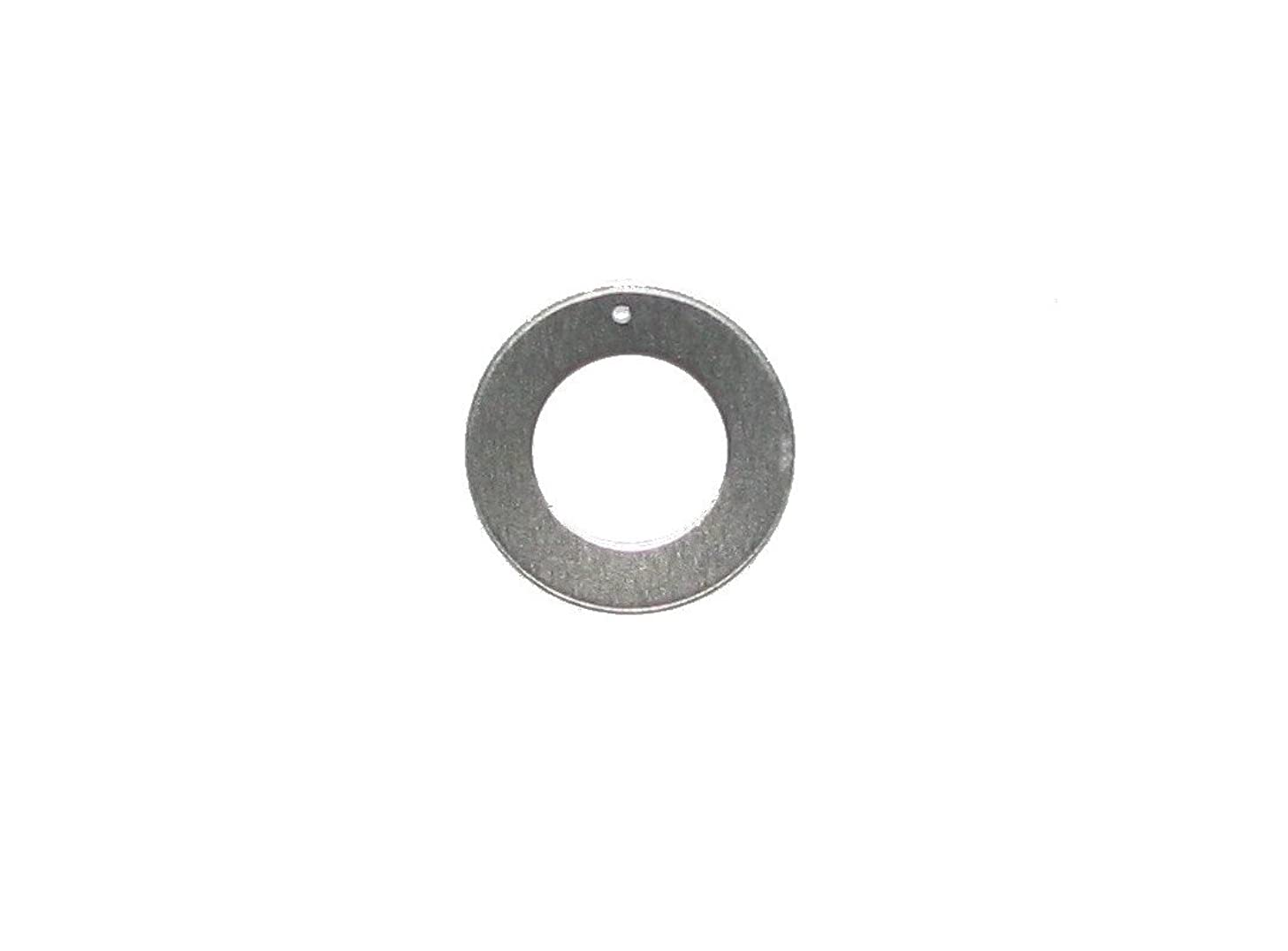 RMP Stamping Blanks, 1 1/4 Inch Round Washer with 3/4 Inch Center with Hole, Aluminum .063