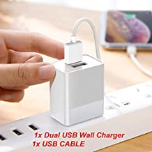 "for WinBook TW700 7"" / TW801 8"" / TW802 8"" / TW100 10.1"" Tablet Dual USB Ports Wall Home House AC Charger w/USB Cable"