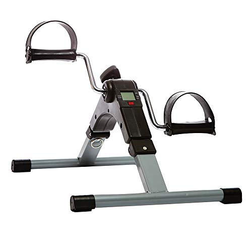 66fit Arm and Leg Folding Pedal Exerciser with Digital Display and...