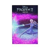 アナと雪の女王 Frozen 1000ピースのジグソーパズル、どの年齢にも適しています、高齢者子供若者、個々のテーマ、パズル リラックスしてストレスを解放する ジグソーパズル 75x50cm。