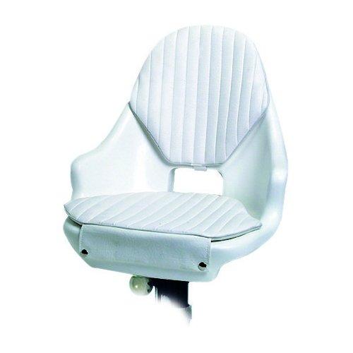 Osculati Sedile Compact con cuscini (Compact Seat Frame polyethylene White + Cushions)