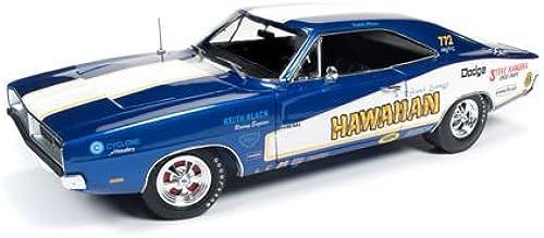 Autoworld 1969 Dodge Charger AW231 Hawaiian Funny Car, 1 18 Die Cast