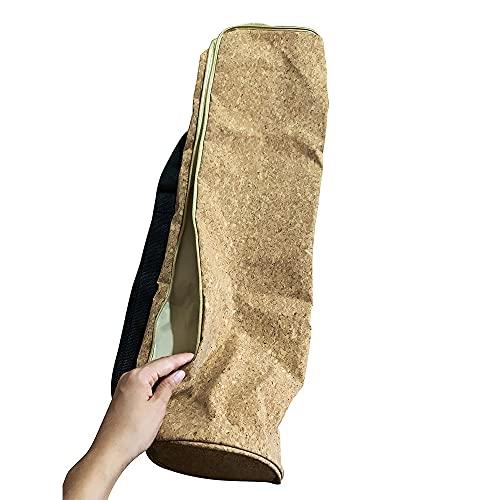 WPC Brands Support de tapis de yoga en liège naturel respectueux de l