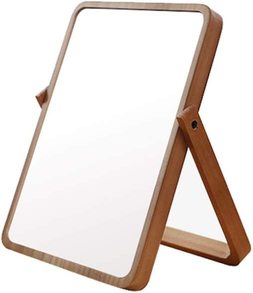 Dressing Mirror Solid Wood Table Desktop M Max 42% OFF Credence Girl