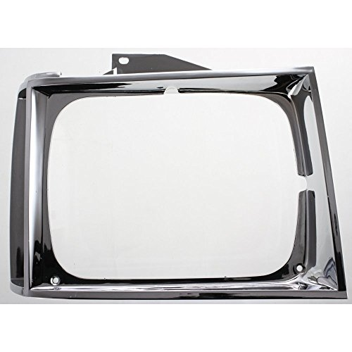 Headlight Door compatible with Chevrolet S10 Pickup 82-90 Chrome Right Side