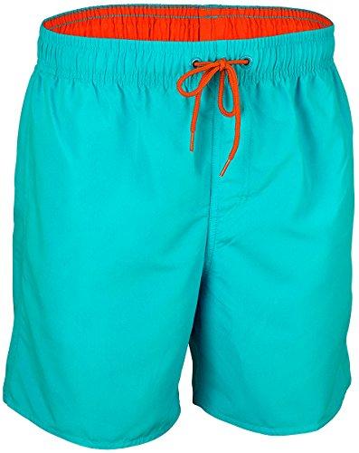 Waimea, zwembroek voor jongens, aqua koraal, maat 164