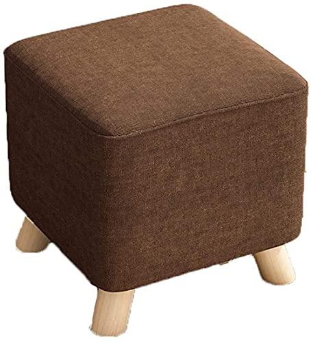 JINYUNDA Banqueta para sofá o sillón, color marrón