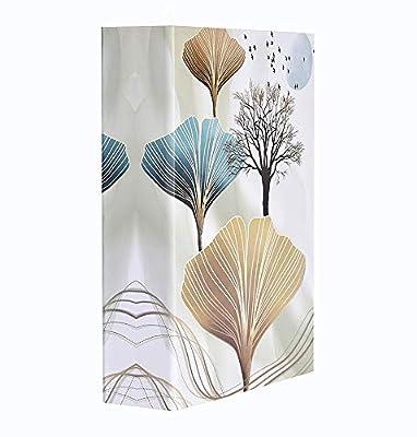 ERBAO Memo Photo Album 200 Pockets Hold 4x6 Photos, Apricot Leaf Design