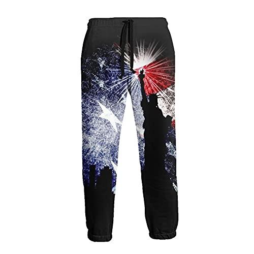 Pantalones deportivos básicos para hombre para entrenamiento