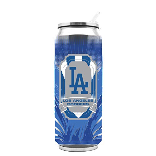 Duck House MLB Los Angeles Dodgers SS Thermocan Sports Fan Kitchen Products, Large/16.9 oz, Multicolor