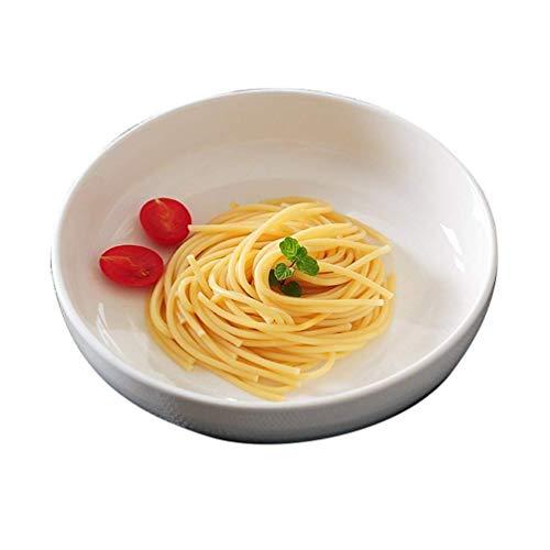 WEHOLY Abendessen Kreative Keramik Reisschale Dim Sum Schüssel Kleine Suppe Frühstück Dessertschale Obstsalat Schüssel Geschirr 14.cm/18.cm (Größe: 14. * 5.cm)