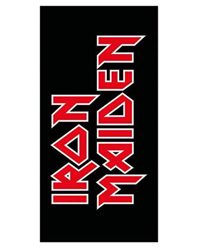 Horror-Shop Toalla con El Logo De Iron Maiden