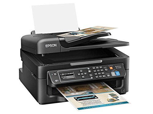 Epson WorkForce WF-2630 Wireless Business AIO Color Inkjet, Print, Copy, Scan, Fax, Mobile Printing, AirPrint, Compact Size