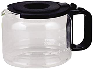 One-All Replacement Carafe Universal Works With Pause 'N Serve Models Black Handle & Lid 10/12 Cup C
