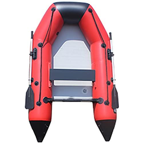 Priority Culture Kayak Hinchable Puede Soportar 250 Kg / 280 Kg Canoa para Mar Estable Piragua Inflable Apto para Salir Al Mar Y Pescar (Color : Red, Size : 240 * 145cm)