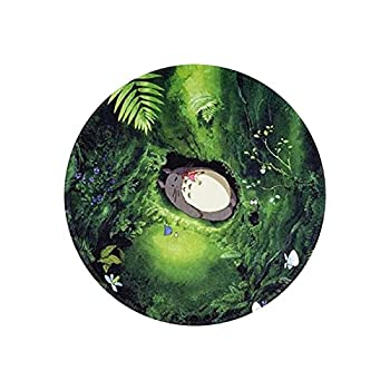 Mouse Pad My Neighbor Totoro Non-Slip Rubber Base Round Mouse Pad Suitable for Computer Notebook Office 7.9 X 7.9 Inch